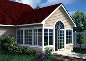 Gabled Sun Room Addition - Project Plan 90022