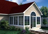 Gabled Sun Room Addition