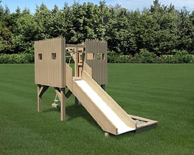 6'x6' Stockade Playfort