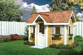 Traditional Children's Playhouse
