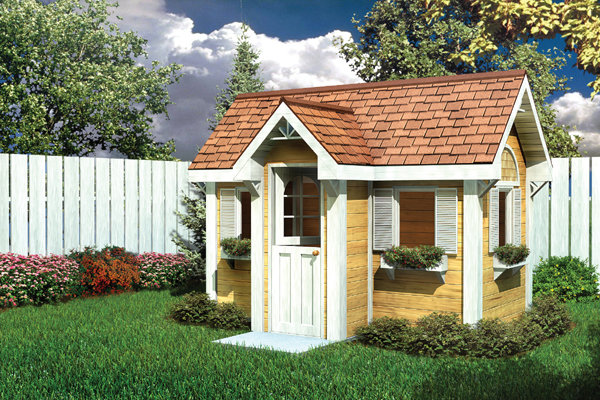 Project Plan 90025 Traditional Children S Playhouse