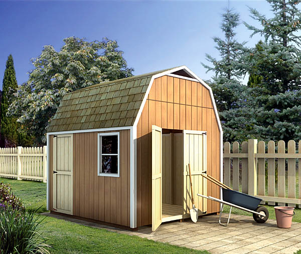 90028 - Gambrel Shed