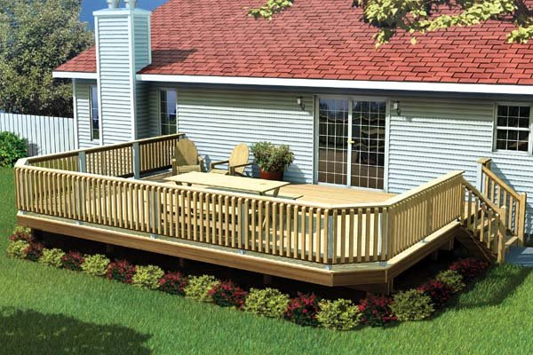 90032 - Fancy Raised Deck