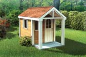 4'x8' Childrens Playhouse