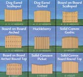 Decorative Privacy Fences
