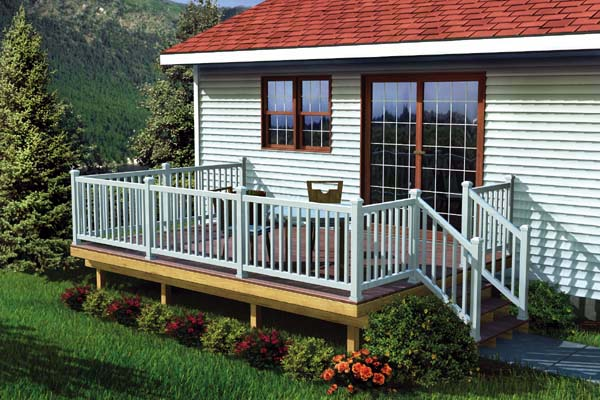 90052 - The Maintenance Free Easy Raised Deck