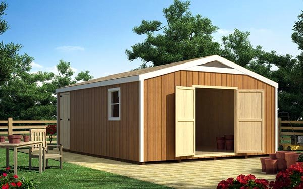 16 x 16 Gable Shed - Project Plan 90056